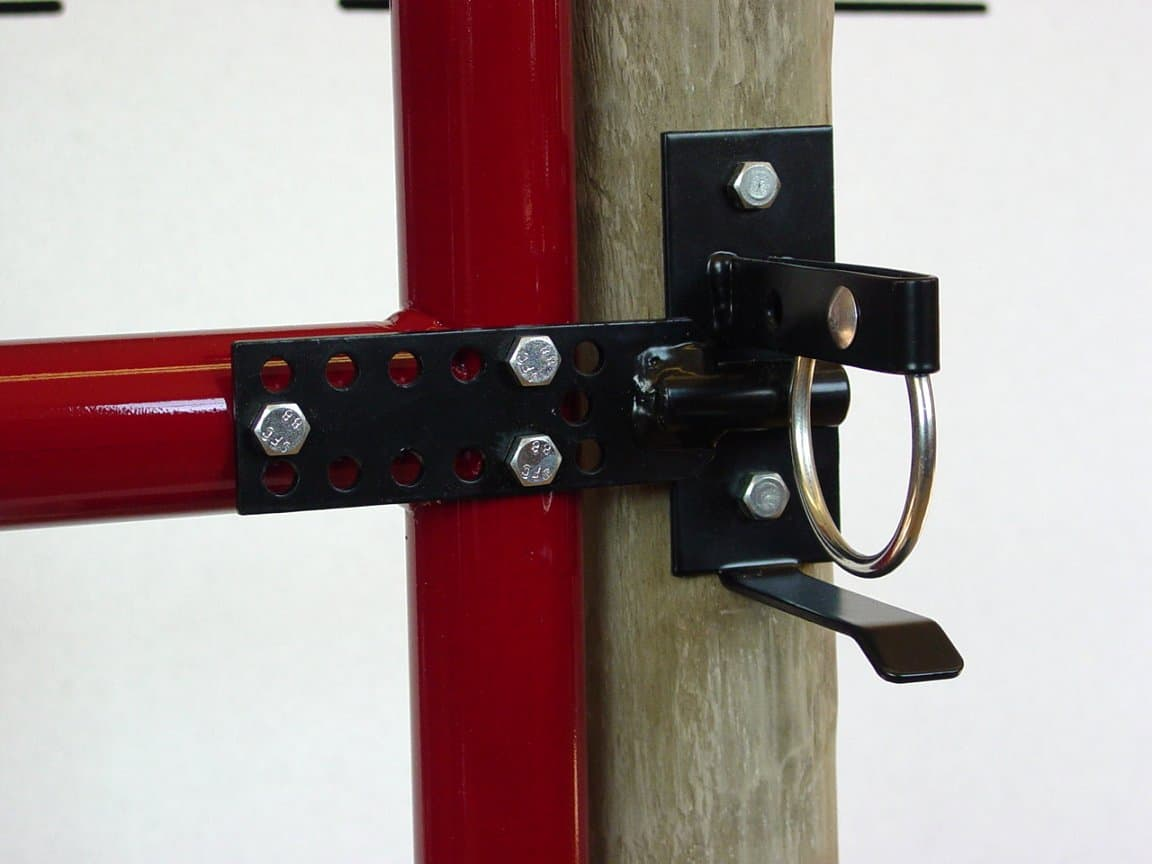 Round up Gate Latch-Single