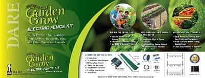 garden grow kit, electric fence kit