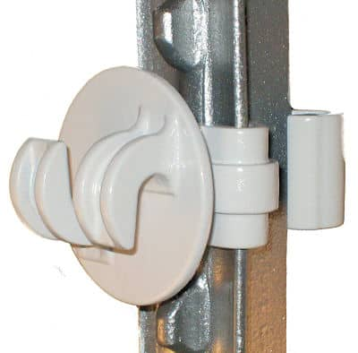 T-Post Insulator for Rope & Coated Wire