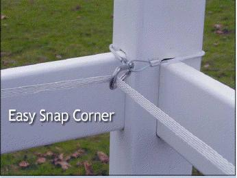 Easy Snap Corner Insulator